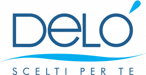 Logo Delò - Scelti per te - miscelatori rubinetti docce e prodotti idrotermosanitari