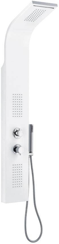 Delò SELENE - Colonna doccia in alluminio bianco-1350903