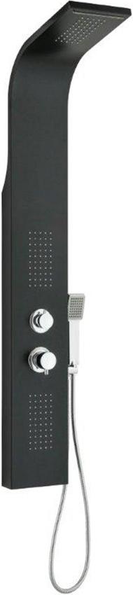 Delò SELENE - Colonna doccia in alluminio nero -1350912