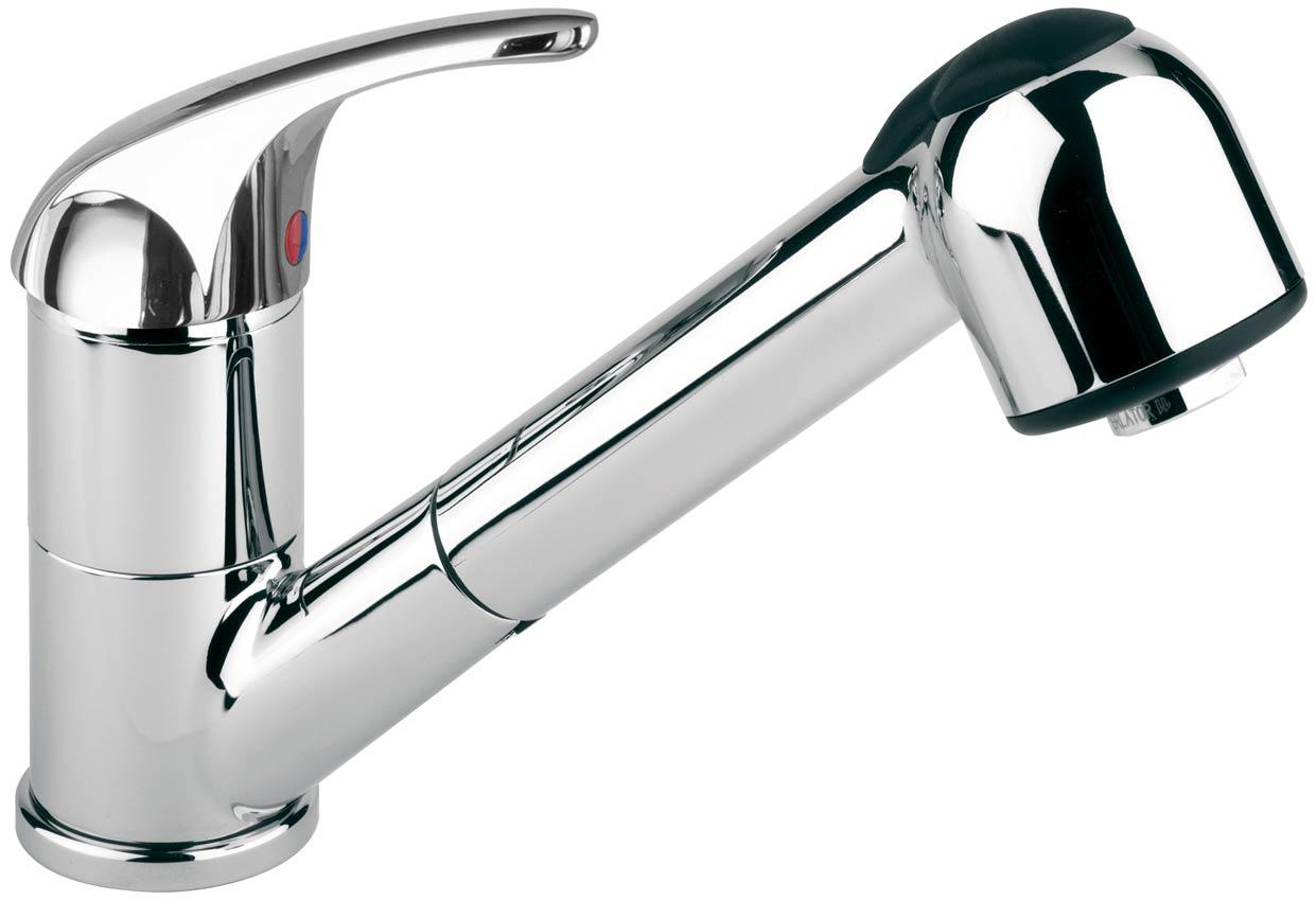 Miscelatore da lavello cucina con doccetta estraibile - Delò