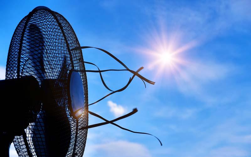 Delo blogpost - come combattere il caldo - ventilatore