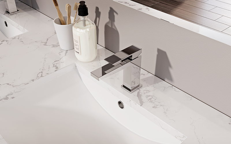 Delò - miscelatore lavabo serie Dado