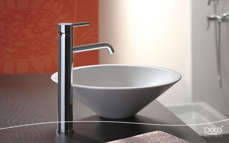 Delo blogpost - curiosita bagno - miscelatore lavabo crpo alto TONDA 3021011_