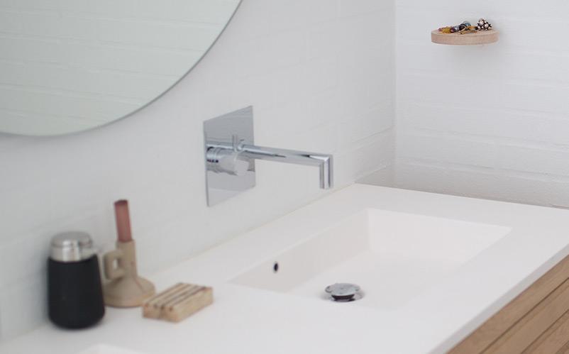 Delo blogpost - miscelatori a lavabo a muro - miscelatore montato