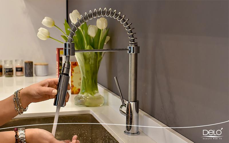 Miscelatore da lavello cucina a doccetta Delò Edo - cod 3009015