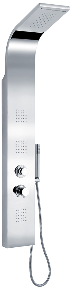 Delò AURORA - colonna doccia multifunzione in acciaio lucido - cod 1350913