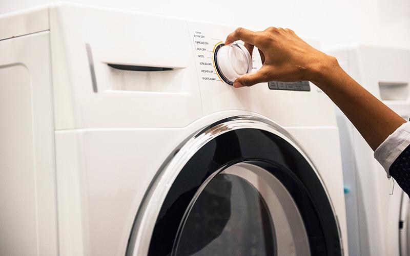 delo blogpost pulire il bagno - lavatrice