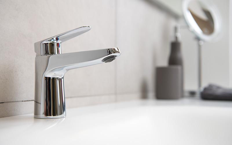 Delò - blogpost come risparmiare acqua - miscelatore lavabo ZERO - cod 3008801