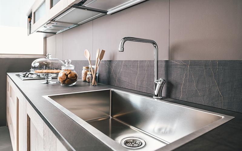 Delò - come pulire bagno cucina rubinetti_miscelatore alessio - cod. 3008851
