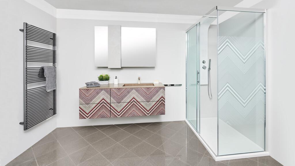 Delo - bagno con colonna doccia Selene