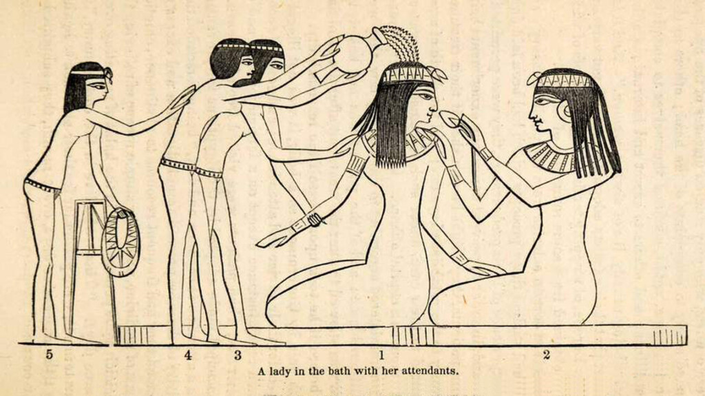 Delo - doccia antico egitto