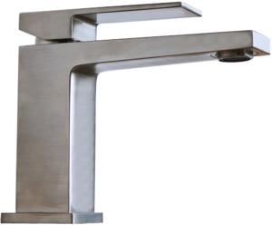 Delò DADO - miscelatore da lavabo simil acciaio - cod 3001810